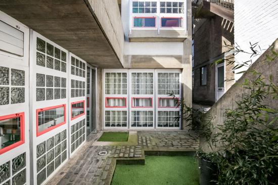 1960s Brian Housden-designed Housden House in London NW3