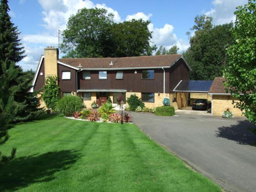 On the market: 1970s Lucida House four-bedroomed house in Waldron, East Sussex