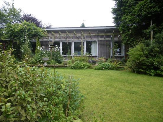 Karibu 1960s-architect-designed property in Howmill, near Carlisle, Cumbria
