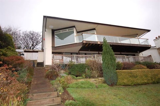 1960s four bedroom hillside house for sale in Almondbury, Huddersfield, West Yorkshire