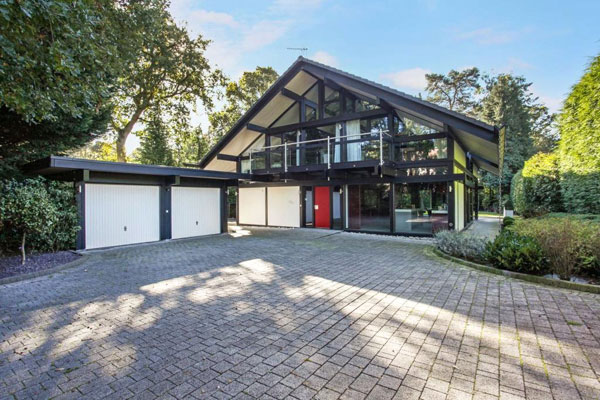 Huf Haus for sale: Four-bedroom property on the Wentworth Estate, Virginia Water, Surrey