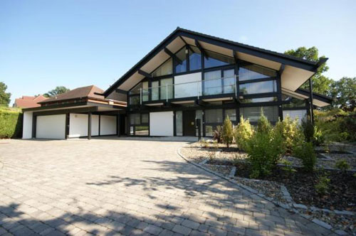 On the market: Five-bedroomed Huf Haus in Oxshott, Surrey