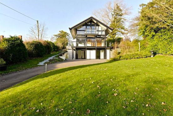 On the market: Five-bedroom modernist Huf Haus in Little Kimble, Buckinghamshire