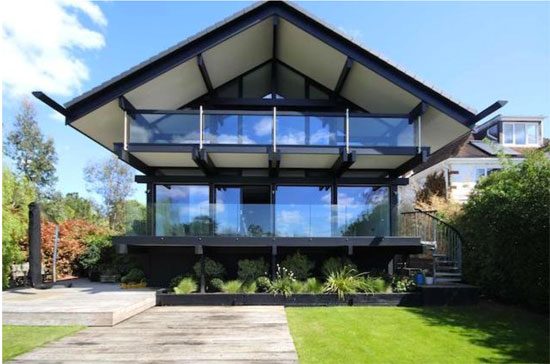 On the market: Four-bedroom riverside Huf Haus in East Molesey, Surrey