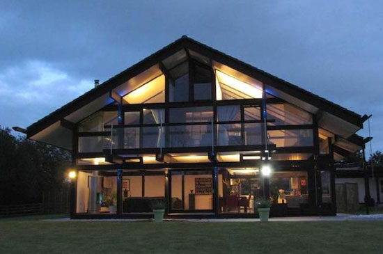 On the market: Four-bedroom Huf Haus contemporary modernist property in Lytham St Annes, Lancashire