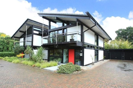 Five-bedroom modernist Huf Haus in Dulwich, London SE21