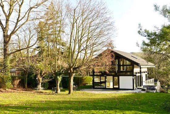 Five-bedroom modernist Huf Haus in Little Kimble, Buckinghamshire