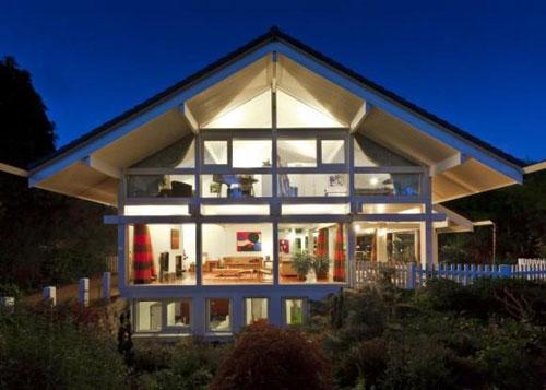 Five-bedroomed Huf Haus in East Horsley, Surrey