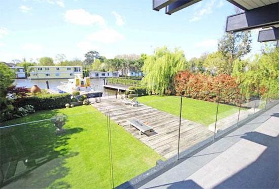 Four-bedroom riverside Huf Haus in East Molesey, Surrey
