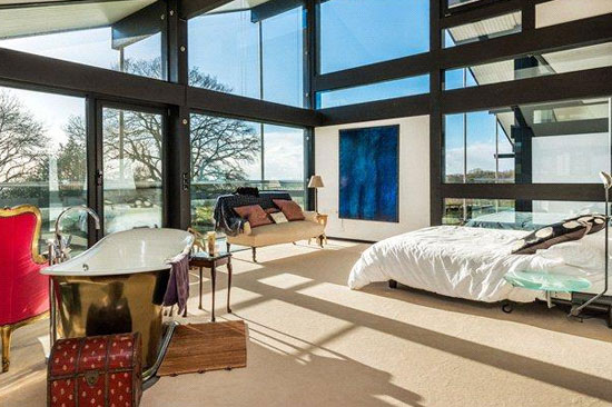 On the market seven bedroom contemporary modernist huf haus in little
