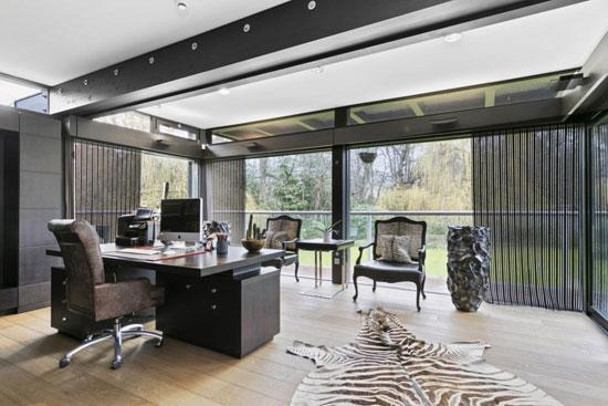 Huf Haus modernist property in St George's Hill, Weybridge, Surrey
