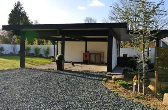 Four-bedroom Huf Haus contemporary modernist property in Lytham St Annes, Lancashire