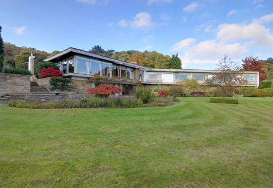 On the market: 1960s Elsworth Sykes-designed Garth House midcentury property in North Ferriby, East Yorkshire
