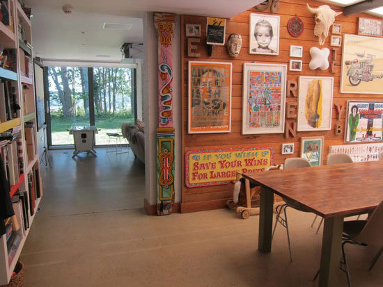 Hut Architecture-designed four-bedroom modernist property in Peasmarsh, East Sussex