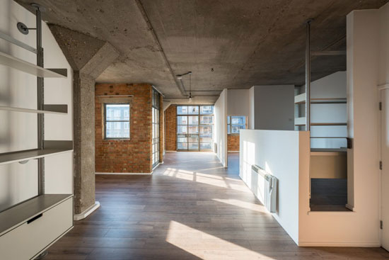 On the market: Apartment in the Davy Smith-converted Royle Building in London N1