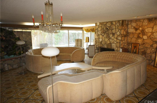 Ike and Tina Turner's midcentury home in View Park, California, USA