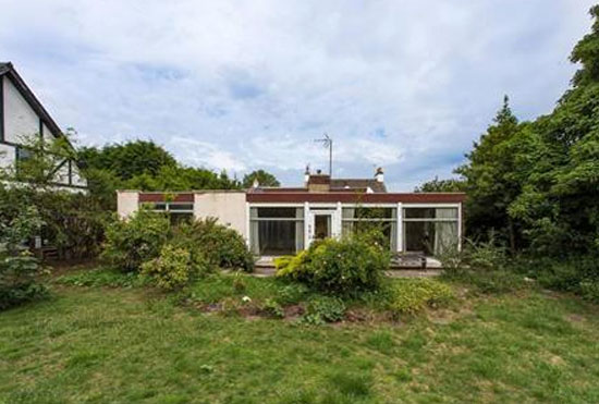 In need of renovation: Illetas 1960s modernist property in Gullane, East Lothian, Scotland