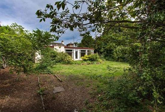 Illetas 1960s modernist property in Gullane, East Lothian, Scotland