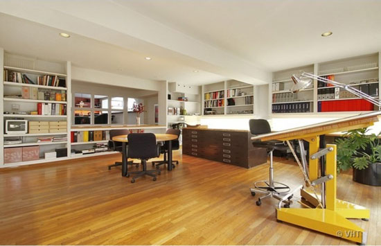 1930s modernist house and studio in Prospect Heights, Illinois, USA