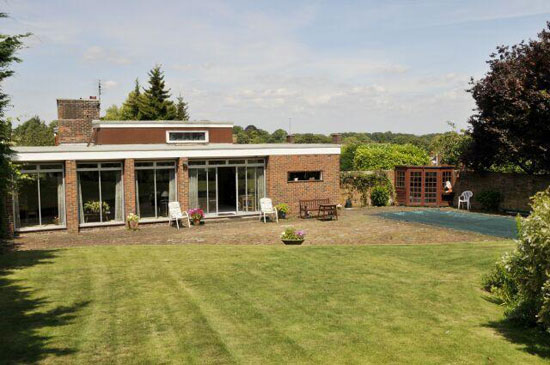 On the market: 1960s architect-designed five-bedroom property in Winchester, Hampshire