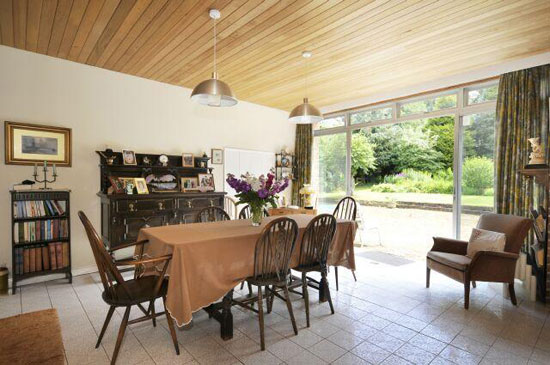 1960s architect-designed five-bedroom property in Winchester, Hampshire