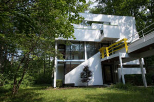 1970s modernism: Michael Graves-designed property in Fort Wayne, Indiana, USA
