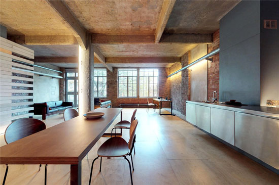 Industrial-style apartment in Clerkenwell, London EC1