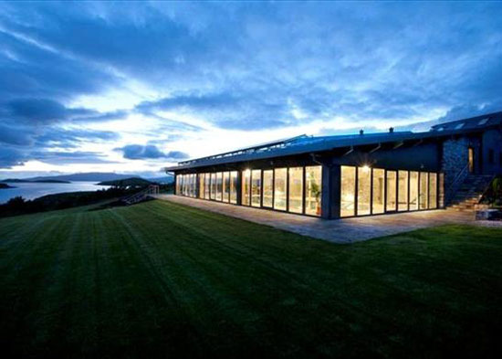 Andrew Wright-designed Island House and your own island on Inishturk Beg Island, Westport, Co. Mayo, Ireland