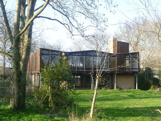On the market: 1960s Birkin Haward-designed six-bedroom house in Ipswich, Suffolk