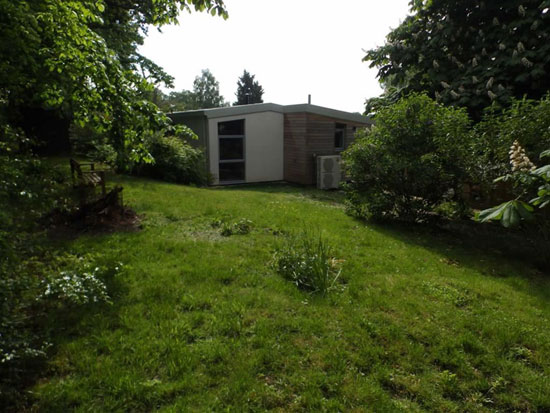 1960s modernism: Split-level property in Playford, Suffolk