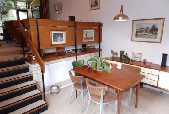 1960s midcentury modern single-storey property in Ipswich, Suffolk
