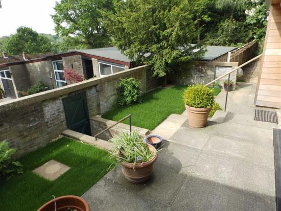 1960s modernism: Split-level property in Playford, Suffolk