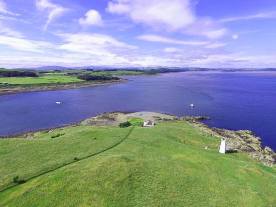 Own an island for £300k: Little Ross Island off the south west of Scotland