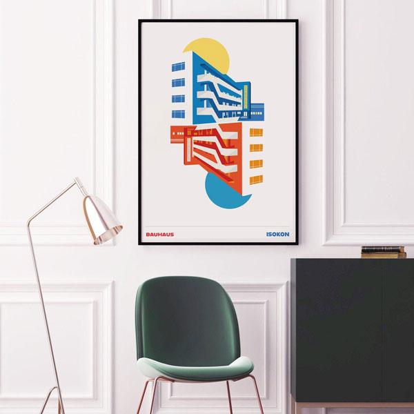 39. Isokon Building print by Eye For London