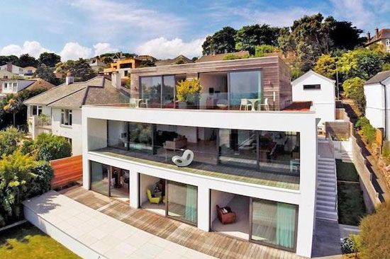 Five-bedroom contemporary modernist property in St Ives, Cornwall