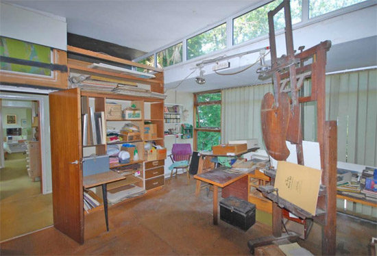 1960s Malcom Haylett midcentury property in St Ives, Cornwall
