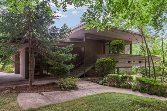 Up for auction: James Taylor's 1950s midcentury home in Chapel Hill, North Carolina, USA