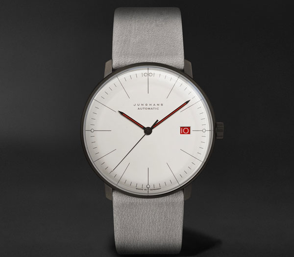 Limited edition Max Bill Bauhaus anniversary watch