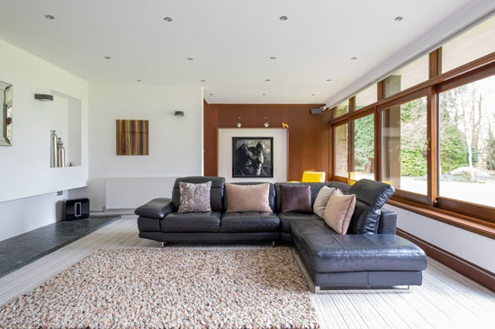 1950s Juniper Hill modern house by John Madin in Lapworth, Warwickshire