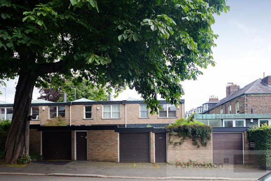 1960s Brian Robson modernist house in Jesmond, Newcastle Upon Tyne
