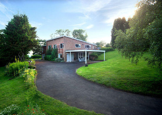 On the market: 1950s W H Godwin-designed Jacob's Ladder property in Low Habberley, Kidderminster, Worcestershire
