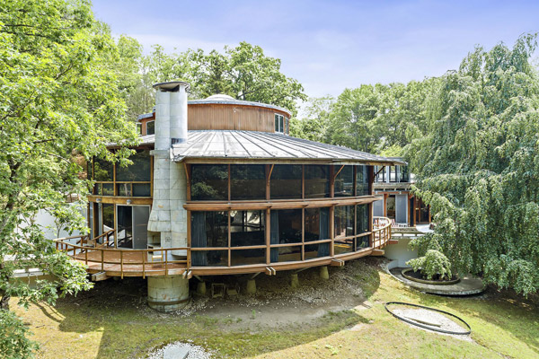 Jackie Gleason's Round House in Cortlandt Manor, New York, USA