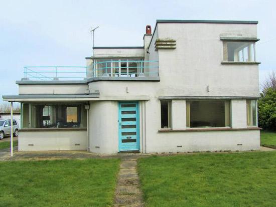 The Lantern W. F. Tuthill-designed art deco property in West Runton, Norfolk