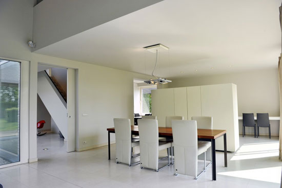 Jan Veelaert-designed modernist property in Kontich, Antwerp, Belgium