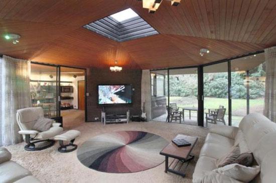 1970s Granville Gough-designed four-bedroom modernist property in Lymm, Cheshire