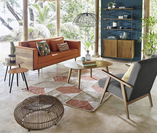 Janeiro midcentury furniture range at maisons du monde - Maison du monde uk ...
