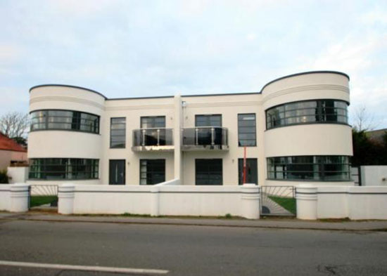 On the market: Four bedroom art deco-style property in St Brelade, Jersey