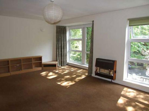 1960s three-bedroomed town house in Jesmond Park East, Newcastle Upon Tyne