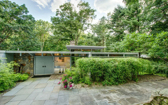 On the market: 1960s midcentury modern property in Bedford, New York, USA