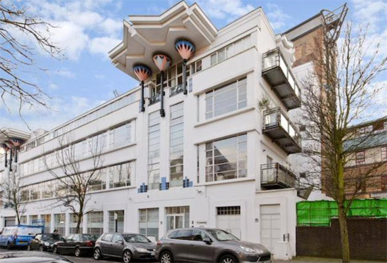 On the market: Two-bedroom apartment in the art deco Wallis Building, St John's Wood, London NW8